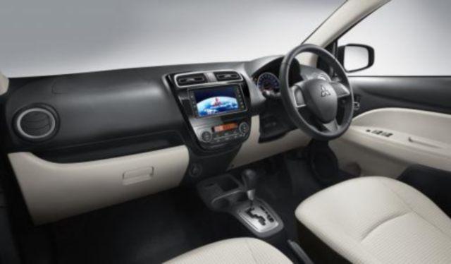 2012 Mitsubishi Mirage Interior Image