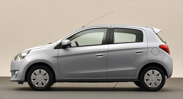 2012 Mitsubishi Mirage Side Image