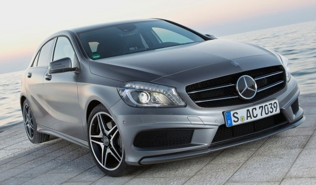 2013 Mercedes A-Class Front Image