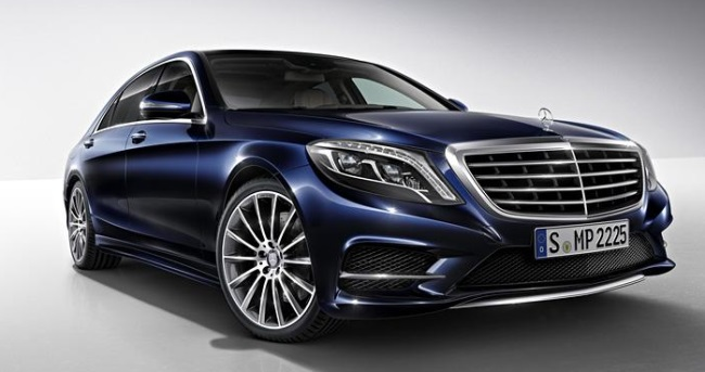 2014 Mercedes S-Class Front Image