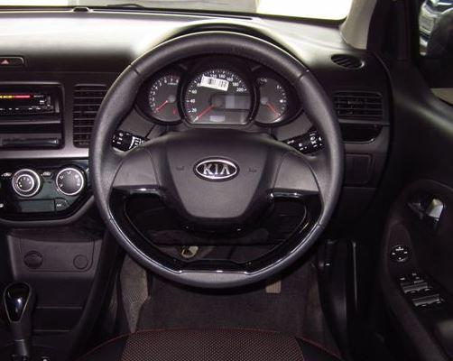 Kia Picanto Steering Wheel Image